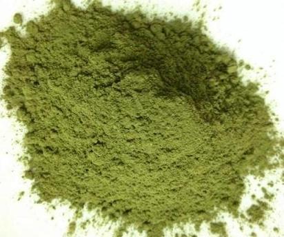 bột lá cẩm tím sau khi được sản xuất xong