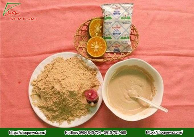 """Tổng hợp 3 công thức làm trắng da từng """"mi-li-mét"""" từ bột cám gạo tại nhà"""