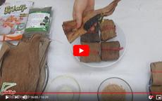 Cách làm bánh gai từ bột lá gai nguyên chất