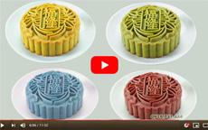 Cách làm bánh dẻo trung thu màu lá dứa khoai lang tím
