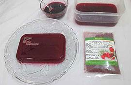 Bật mí công thức làm thạch rau câu bột củ dền ngon nhất