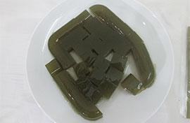 Thanh mát với món thạch rau câu bột trà xanh nguyên chất tại nhà